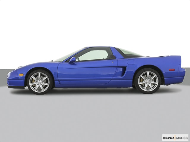 2003 Acura NSX Drivers side profile, convertible top up (convertibles only)