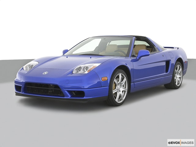 2003 Acura NSX Front angle view