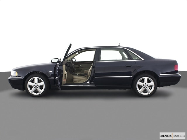 2003 Audi A8 Driver's side profile with drivers side door open