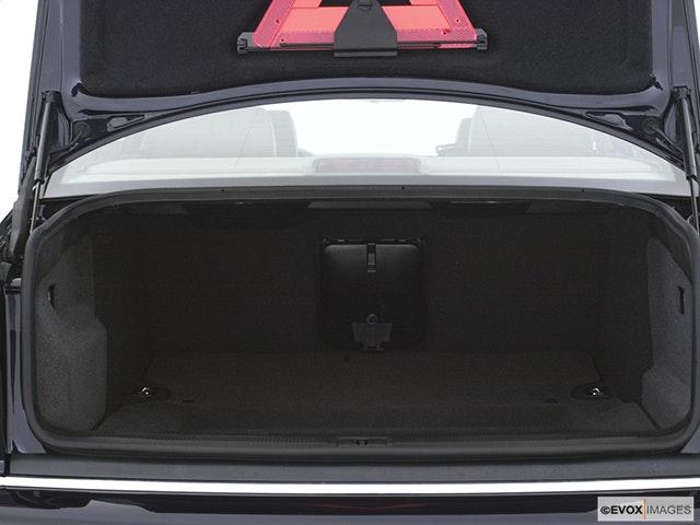 2003 Audi A8 Trunk open