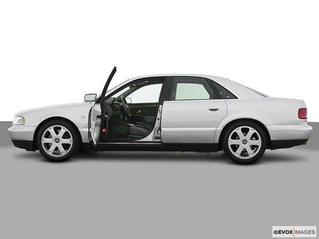 2003 Audi S8 Driver's side profile with drivers side door open