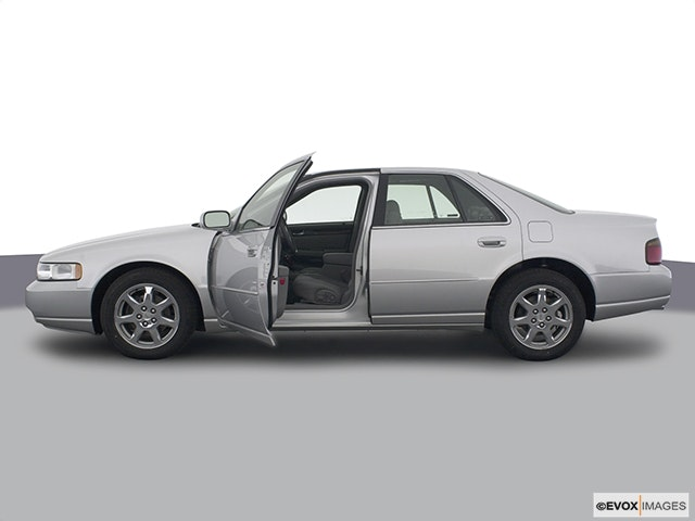 2003 Cadillac Seville Driver's side profile with drivers side door open