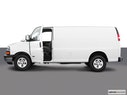2003 Chevrolet Express Cargo Driver's side profile with drivers side door open