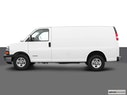 2003 Chevrolet Express Cargo Drivers side profile, convertible top up (convertibles only)
