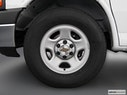2003 Chevrolet Express Cargo Front Drivers side wheel at profile