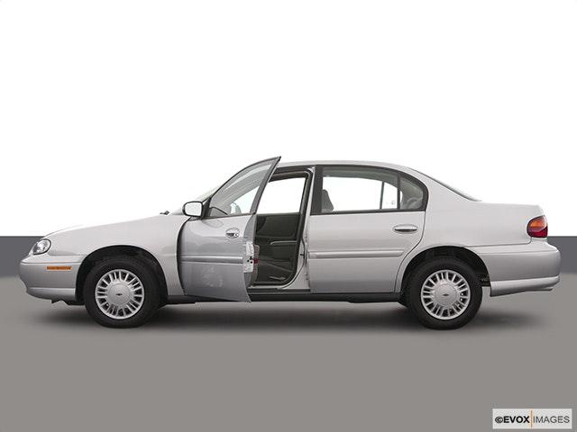 2003 Chevrolet Malibu Driver's side profile with drivers side door open