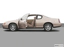 2003 Chevrolet Monte Carlo Driver's side profile with drivers side door open