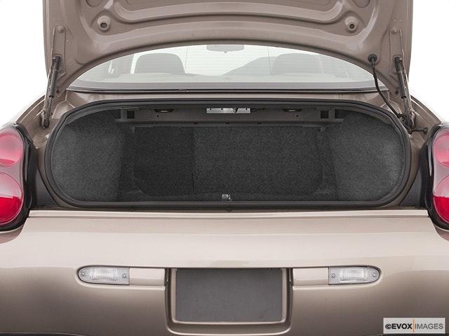 2003 Chevrolet Monte Carlo Trunk open