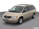 2003 Chrysler Town and Country Front angle view