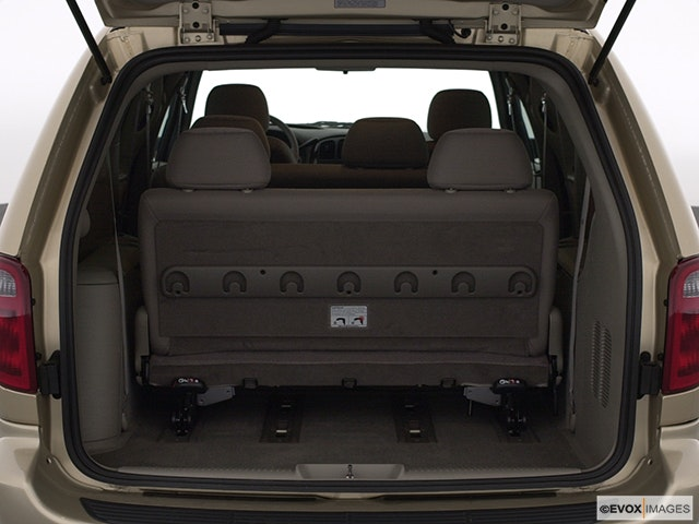 2003 Chrysler Town and Country Trunk open