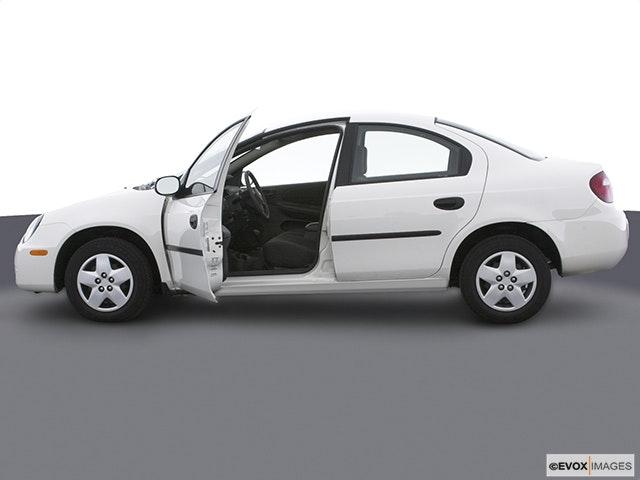 2003 Dodge Neon Driver's side profile with drivers side door open