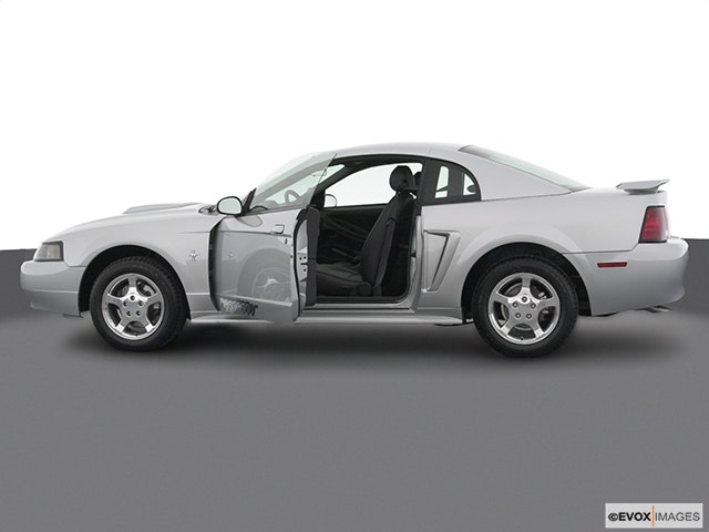 2003 Ford Mustang Driver's side profile with drivers side door open
