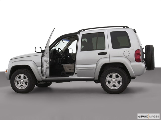 2003 Jeep Liberty Driver's side profile with drivers side door open