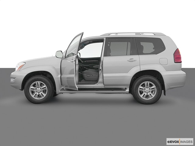 2003 Lexus GX 470 Driver's side profile with drivers side door open