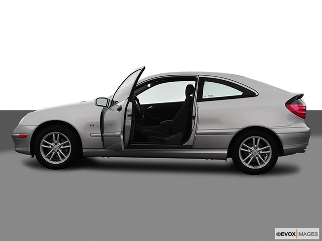 2003 Mercedes-Benz C-Class Driver's side profile with drivers side door open