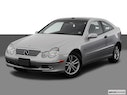 2003 Mercedes-Benz C-Class Front angle view