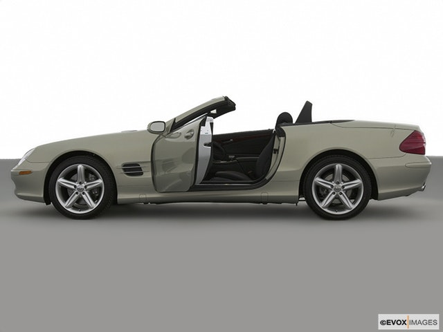 2003 Mercedes-Benz SL-Class Driver's side profile with drivers side door open