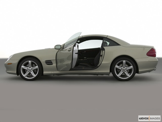 2003 Mercedes-Benz SL-Class Drivers side profile, convertible top up (convertibles only)