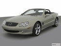 2003 Mercedes-Benz SL-Class Front angle view