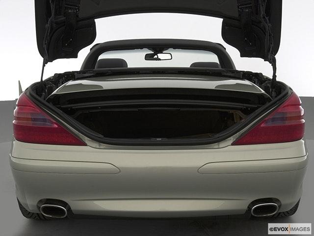 2003 Mercedes-Benz SL-Class Trunk open
