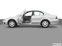2003 Mitsubishi Galant Driver's side profile with drivers side door open