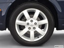 2003 Nissan Maxima Front Drivers side wheel at profile