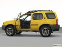 2003 Nissan Xterra Driver's side profile with drivers side door open