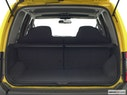 2003 Nissan Xterra Trunk open