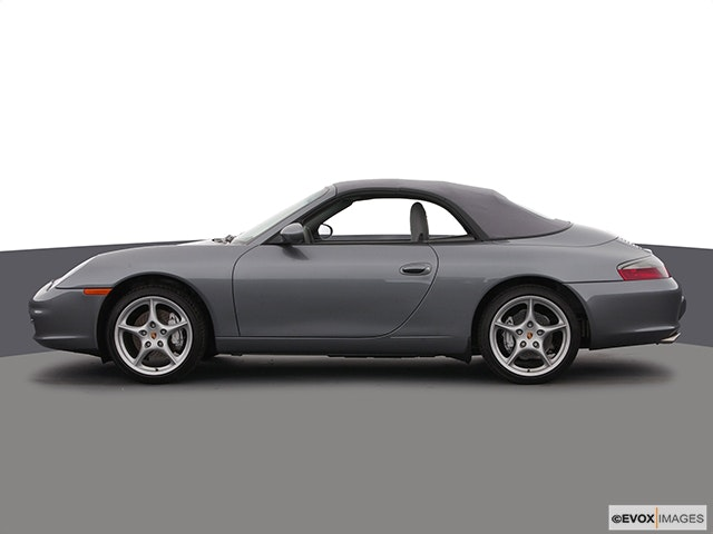 2003 Porsche 911 Drivers side profile, convertible top up (convertibles only)