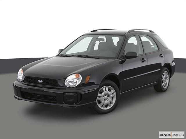 2003 Subaru Impreza Front angle view