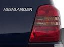 2003 Toyota Highlander Passenger Side Taillight