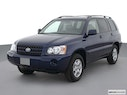 2003 Toyota Highlander Front angle view