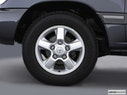 2003 Toyota Land Cruiser Front Drivers side wheel at profile