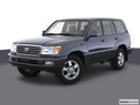 2003 Toyota Land Cruiser Front angle view