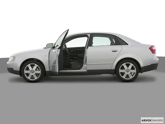 2004 Audi A4 Driver's side profile with drivers side door open