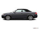 2004 Audi S4 Drivers side profile, convertible top up (convertibles only)