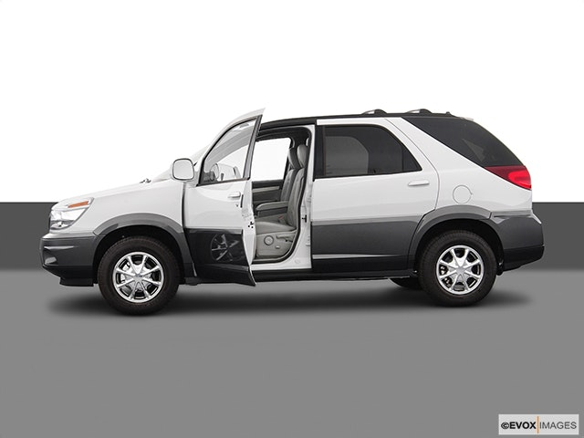 2004 Buick Rendezvous Driver's side profile with drivers side door open