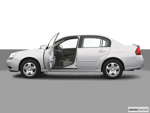 2004 Chevrolet Malibu Driver's side profile with drivers side door open
