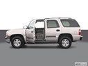 2004 Chevrolet Tahoe Driver's side profile with drivers side door open