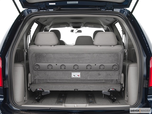 2004 Chrysler Town and Country Trunk open