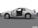 2004 Ford Mustang Driver's side profile with drivers side door open