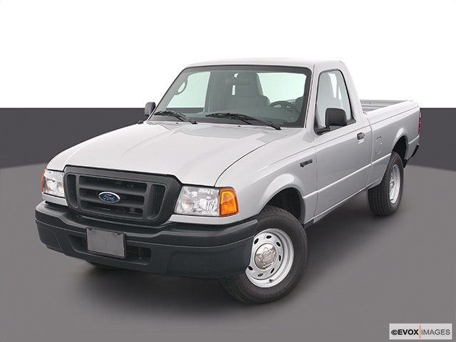 2004 Ford Ranger Front angle view