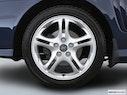 2004 Hyundai Tiburon Front Drivers side wheel at profile
