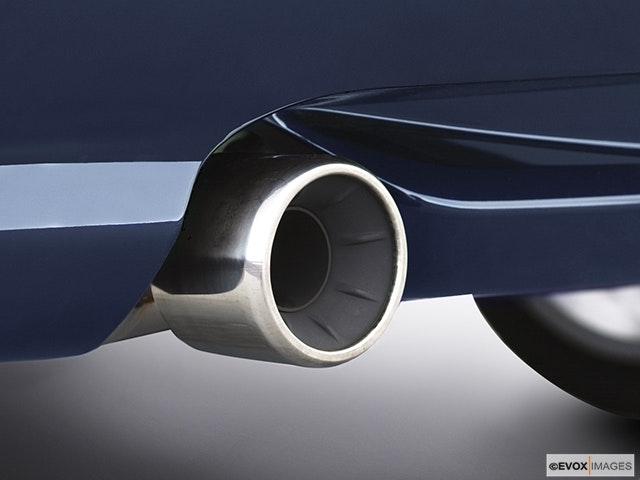 2004 Hyundai Tiburon Chrome tip exhaust pipe