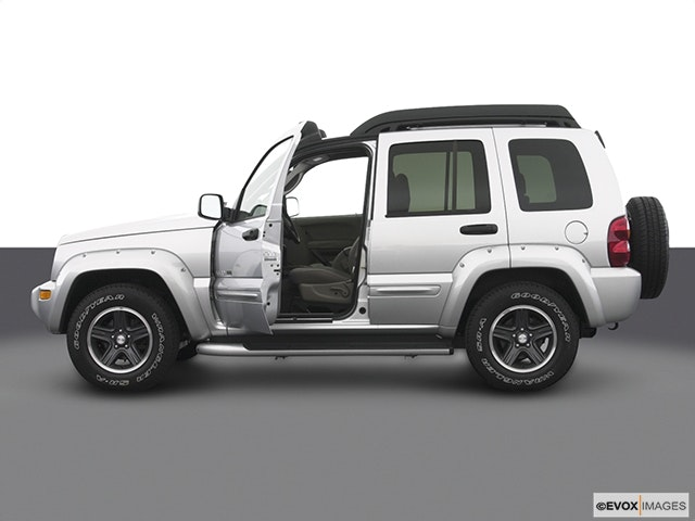 2004 Jeep Liberty Driver's side profile with drivers side door open