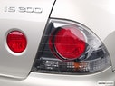 2004 Lexus IS 300 Passenger Side Taillight