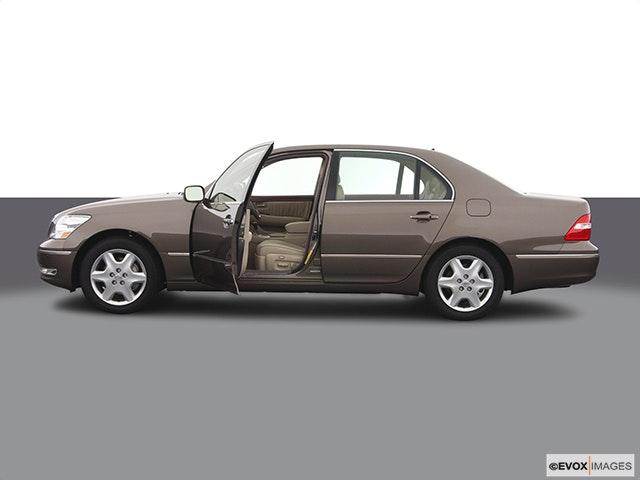2004 Lexus LS 430 Driver's side profile with drivers side door open