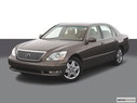 2004 Lexus LS 430 Front angle view
