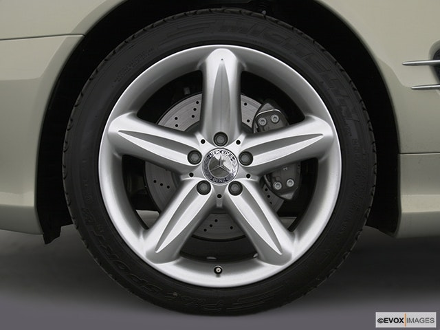 2004 Mercedes-Benz SL-Class Front Drivers side wheel at profile
