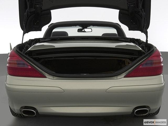 2004 Mercedes-Benz SL-Class Trunk open